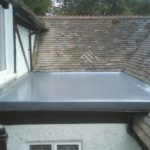 Fibreglass flat roofing installation in Bristol