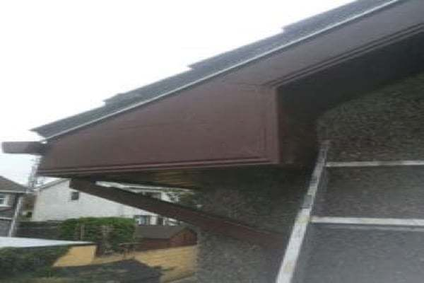 Finished Rotted pvc Fascia and soffit Bristol
