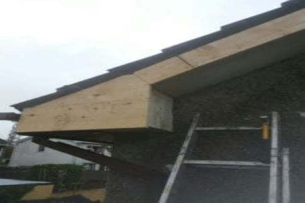 After Rotted pvc Fascia and soffit Bristol